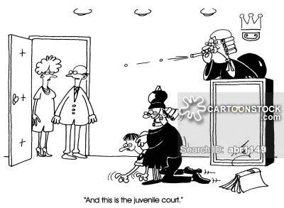 Juvenile Court Search Juvenile Court And Comics Pictures From Cartoonstock