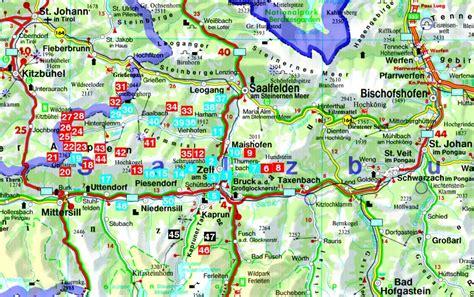 Motorradzubehör Zell Am See by Wandelgids 79 Pinzgau Saalbach Und Zell Am See Rother