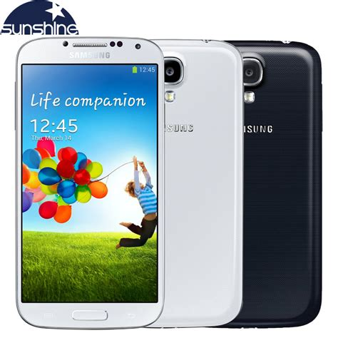 Samsung Galaxy S4 I9500 Black Ram2gbrom16gb unlocked original samsung galaxy s4 i9505 i9500 mobile phone 5 quot cellphone 2gb ram 16gb