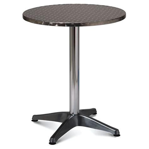 aluminium indoor outdoor round table