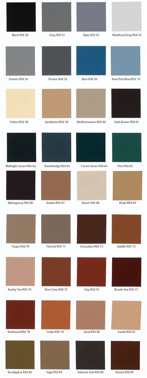 behr paint colors for concrete floors behr solid concrete stain color chart pinteres