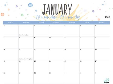 2018 monthly printable calendar let s do this true 2018 printable calendar for moms imom