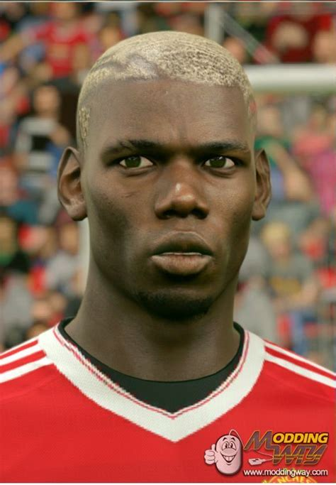 cool fifa 14 hairstyles paul pogba blonde hair fifa 16 at moddingway
