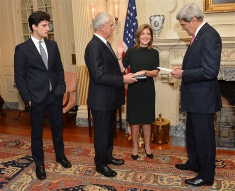 caroline kennedy s son jack caroline kennedy starts her new role as u s ambassador to