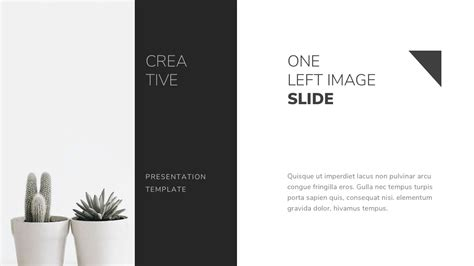 black and white powerpoint template by twilightslide