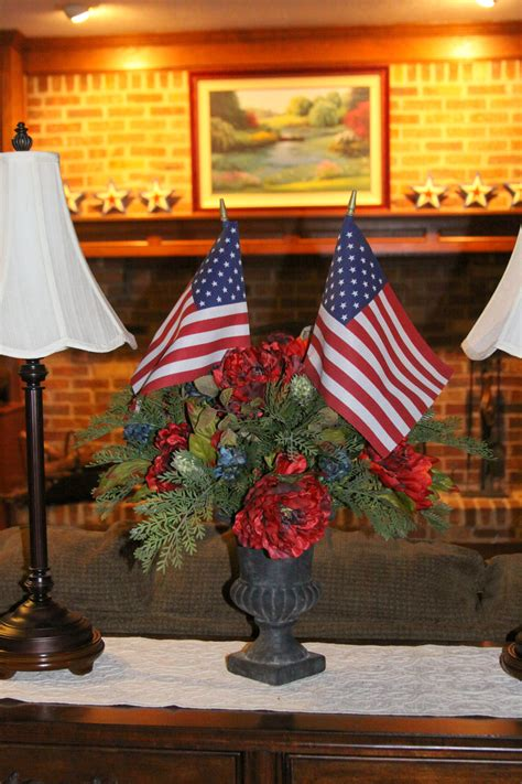 decor patriotic home decorations the enchanted manor