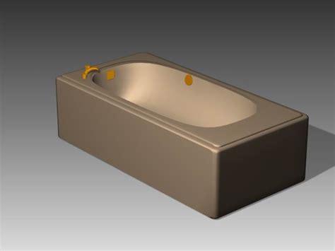 Baignoire 3d by Asian Bathtub 4 3d Model 3ds Max Free