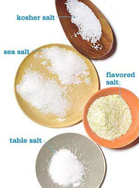 different types of salt ls how to use different types of salt rachael ray every day