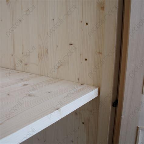 ripiani per armadi su misura pratelli mobili armadio su misura grezzo 4 ante in legno