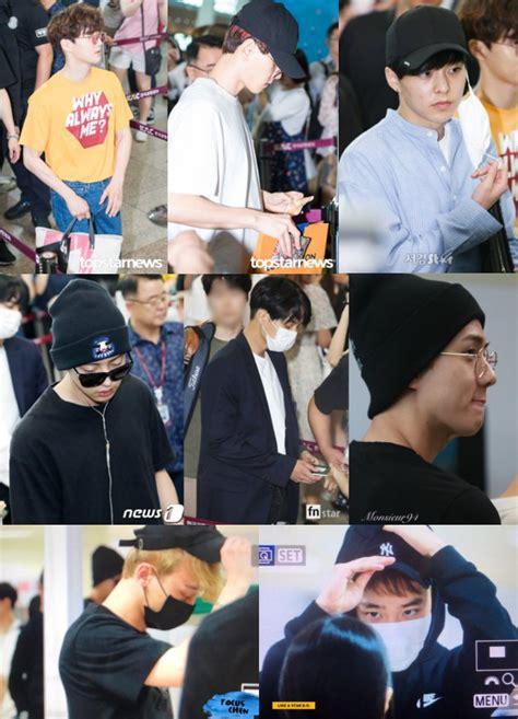 Gaya Rambut Xiumin by Berangkat Ke Jeju Gaya Rambut Baru Member Exo Bikin Fans