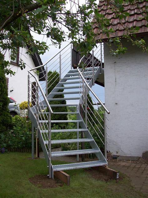 treppe edelstahl stahl verzinkt 1 treppen leistungen