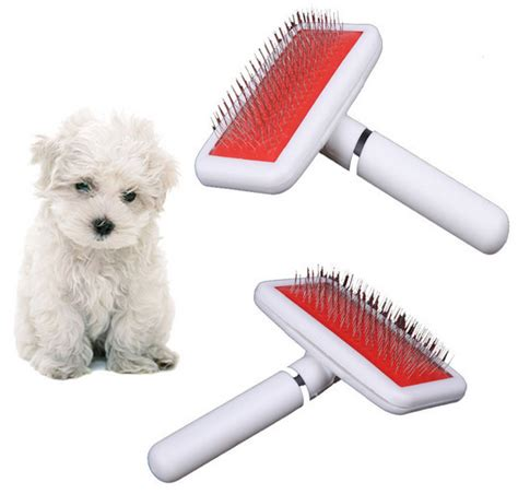 pets brush shedding grooming pin hair removal comb for