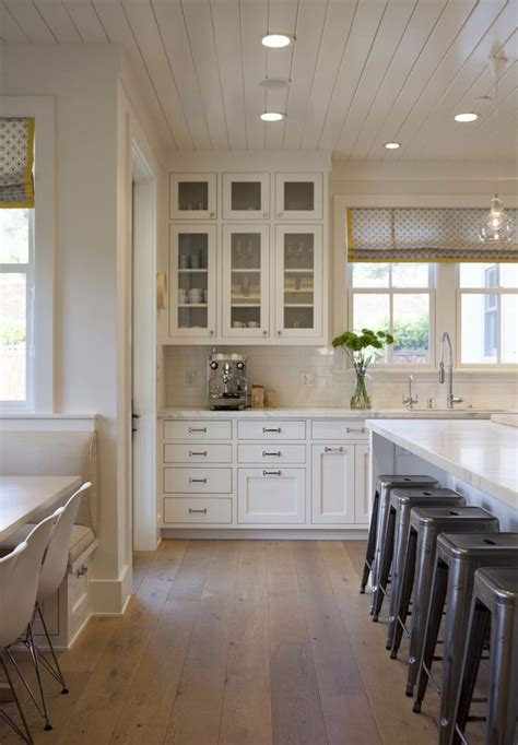 Ceiling And Floor by Modern Farmhouse Kitchen 1 Kitchens