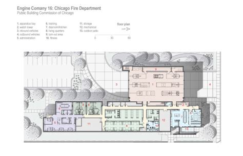 Firehouse Floor Plans by Engine Company 16 Firehouse Dlr Group Archdaily