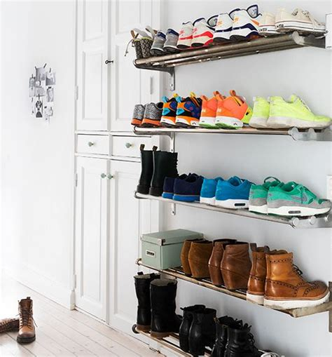 shelves for home shoes ikea 22 diy shoe storage ideas for small spaces diy shoe