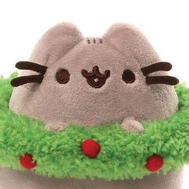 Gund Pusheen Christmast Wreath gund official home of huggable teddy bears stuffed toys