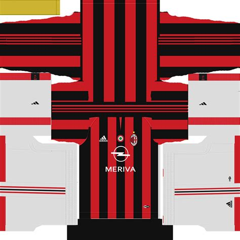 Retro Jersey Ac Milan Away 2007 milan 2003 kit for pes 16 by dartion pes world pes patch