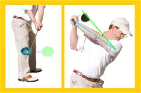 flattening golf swing what is a flat golf swing