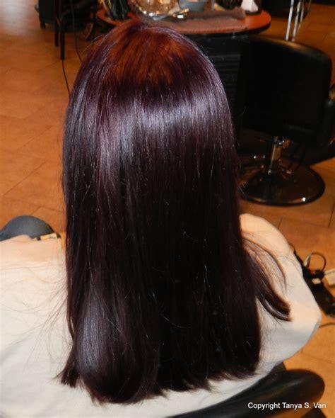 level 5 hair color finally got my violet rusk level 5 violet hair