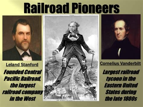 leland stanford the of a railroad tycoon books unit 1 powerpoint 2 the gilded age the west