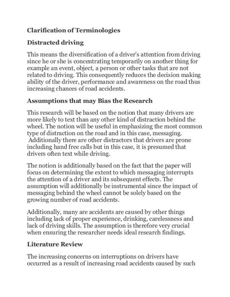 Cell Phones And Driving Essay by Messaging While Driving Essay