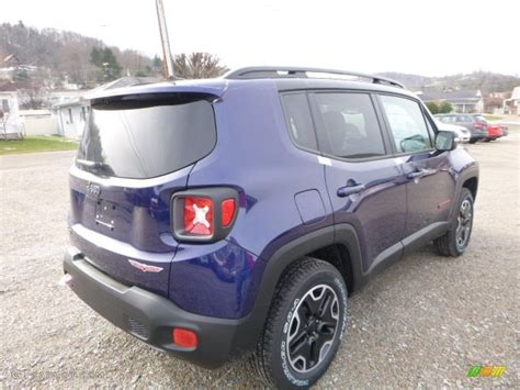 purple jeep renegade 2016 jetset blue jeep renegade trailhawk 4x4 110147093