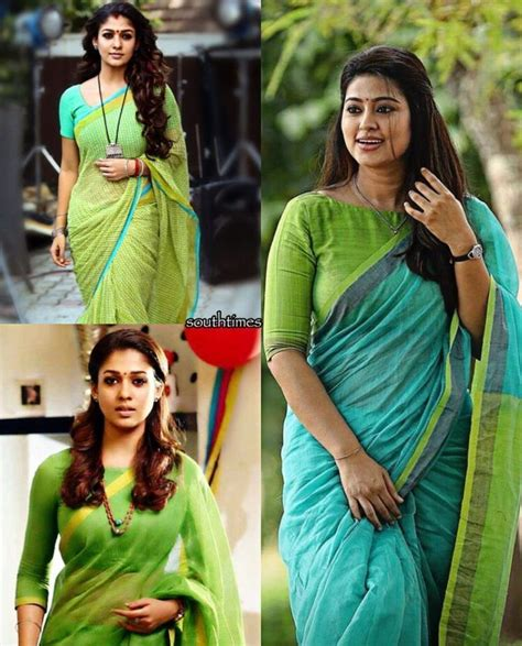 nayanthara boat neck blouse designs shop saree ethnic kurtis best saree http ladyindia
