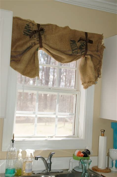 burlap curtains i need to make window covering ideas