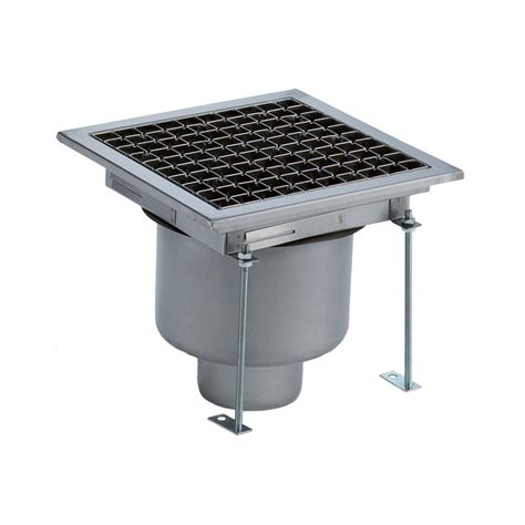 Floor Drain Stainless 2 floor drains and collecting tanks floor drain with stainless steel grate vertical outlet