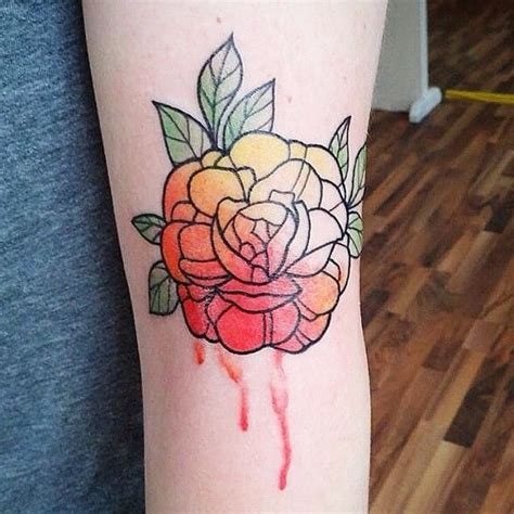 watercolor by emily kaul of opal ink in portland or