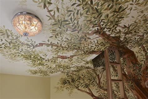 Murals Ceiling by European Decorative Finishes Transported To Chicago The