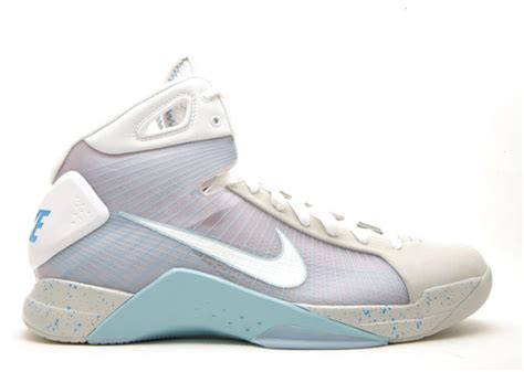 Nike Air Mcfly To Be Released by Hyperdunk Supreme Quot Marty Mcfly Quot Jetstream White Pl Blue