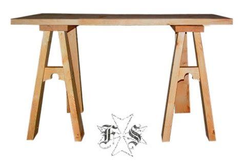 tavoli con cavalletti tavolo in legno con cavalletti medievale smontabile