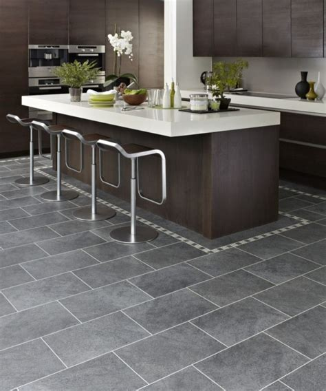 gray tile kitchen floor is tile the best choice for your kitchen floor consider