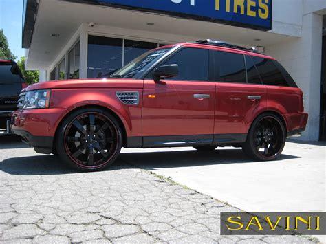 range rover black rims range rover sport savini wheels