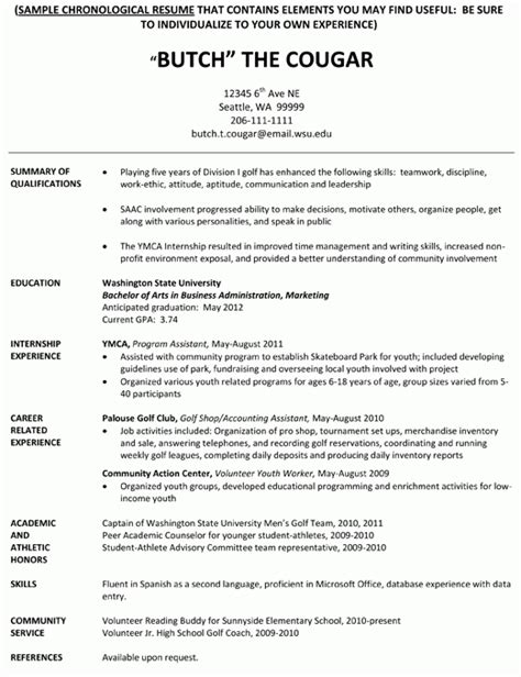 sports resume for college best resume collection