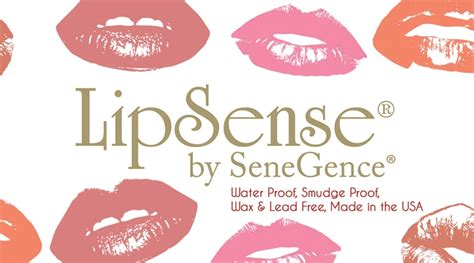 lipsense business card design 1