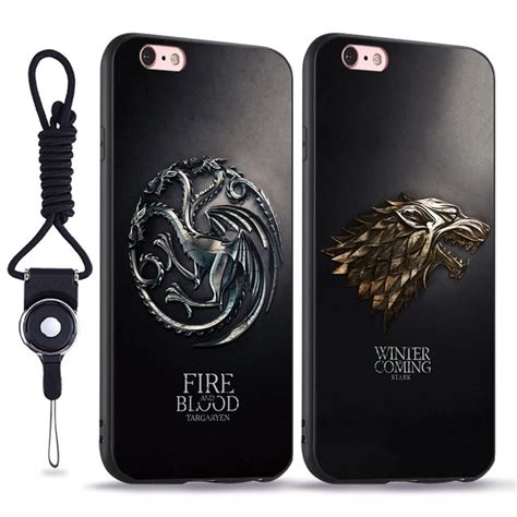 House Of Stark Iphone 5 5s of thrones house stark targaryen lannister coque