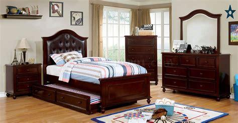 olivia bedroom set olivia cm7155ex 4pc youth bedroom set in espresso w options