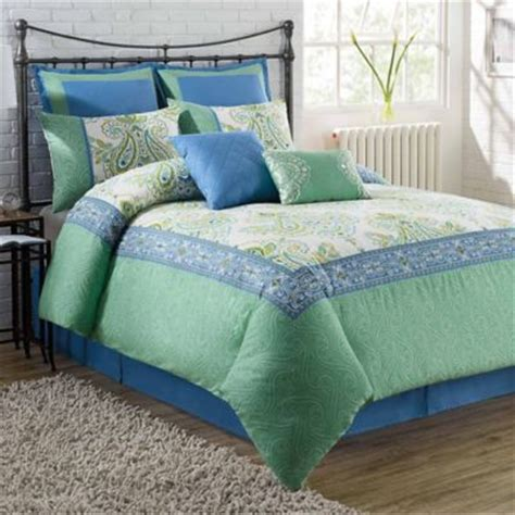blue and green bedding sets buy green and blue comforter sets from bed bath beyond