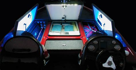 led bass boat deck lights blue water led lighting on a bass boat 4 available at