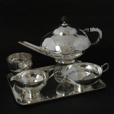 Silver L Set by Silver Tea Set L W Kooten L W Kooten 1928