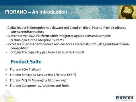 fiorano esb fiorano esb integration solution for banks