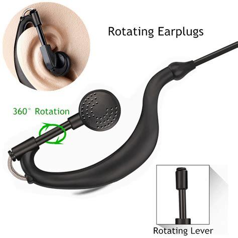 Murah Walkei Talkie Mainan Tranformer headset earphone untuk walkie talkie black