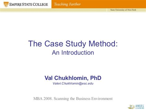Mba Method by Val Chukhlomin On Harvard Studies Mba