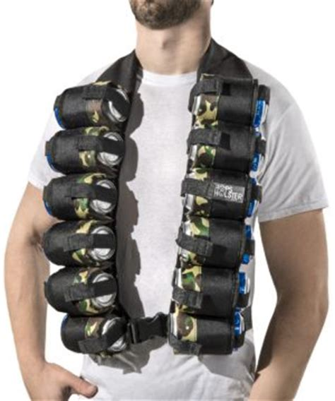 Cool Office Decor Beer Bandolier Carry 12 Beers In A Soldier S Ammo Strap