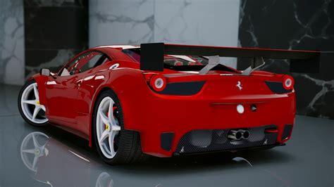 Ferrari 458 I by Ferrari 458 Italia Gt2 Add On Tuning Gta5 Mods