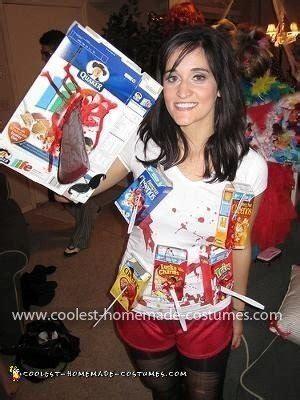 coolest homemade cereal killer costume