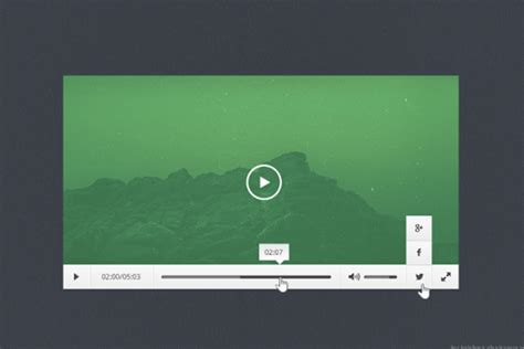 ui pattern video 44 freebie psd ui templates for video audio players