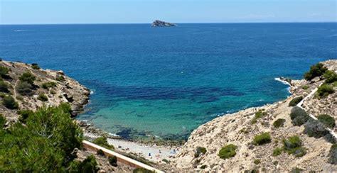 alquiler playa almadrava para sus cala la almadrava playas y calas benidorm turismo de